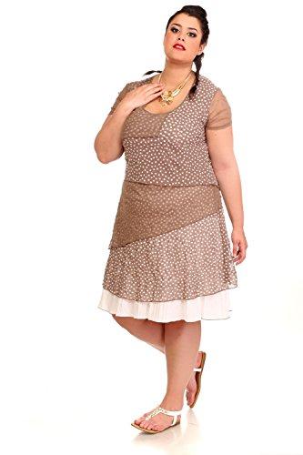 Blee Klum - Vestido - para mujer marrón