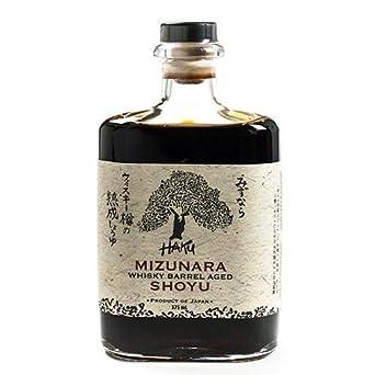 Haku Mizunara Whiskey Barrel Aged Shoyu (375 ml)