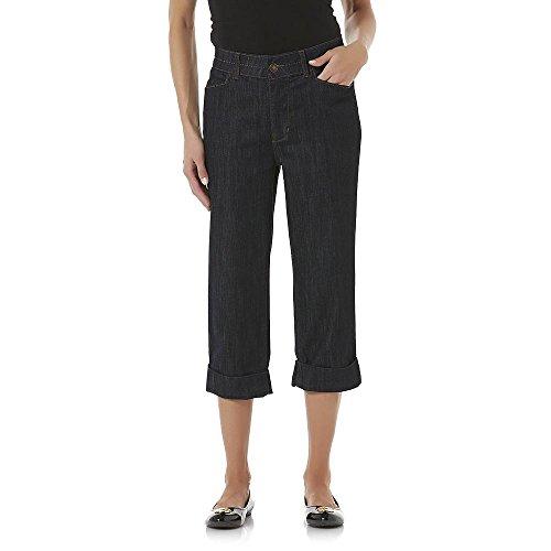 Jaclyn Smith Women's Comfort Waist Denim Capri Pants, - Jaclyn Smith Jeans