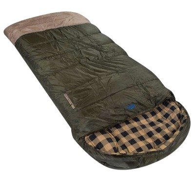 Ledge Sports Rocky Gap -20 F Degree XL Oversize Flannel Lined Sleeping Bag (90 X 40), Outdoor Stuffs