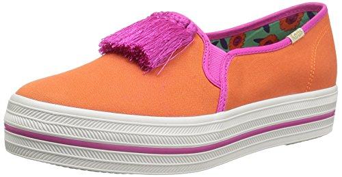 Sneaker Too Women's Fashion kate spade new Decker york Tangelo OOX0Tq