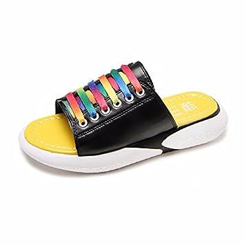 XIAOGEGE Drag & Drop das Wort Frauen Schuhe Sommer neue Dinge nicht zu tragen - Slip cool Hausschuhe, EU39 Weiß