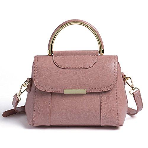 Oblicuos 2018 Estilo Nuevo Pink Simple Bolsa GWQGZ Bolso Brown Bolso Moda xO7qXCw7H