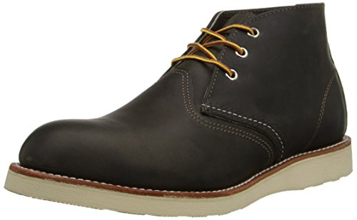 Red Wing Men's Heritage Work Chukka Boot, Charcoal Rough And Tough, 47 EU/13 D US