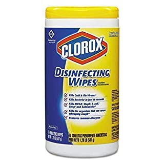 Clorox 15948 Premoistened Disinfecting Wipes