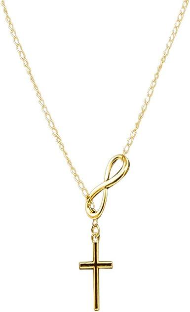 Women Cross Pendant Chain Pendant Necklace Jewelry Accessories