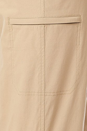 UNIONBAY Men's Rainier Lightweight Comfort Travel Tech Chino Pants, Khaki, 30x30