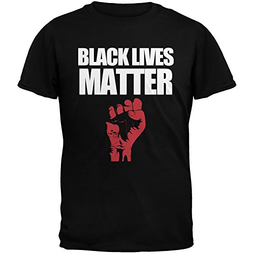 Black Lives Matter Black Adult T-Shirt