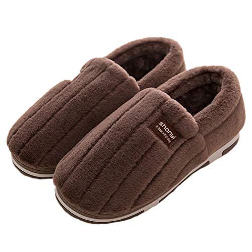 De Indoor Peluche Mignon Brown Maison Tpr L'environnement Fourrure Printemps Nikimi Protection Fluffy Pompon Pantoufles Femmes Chaussures B Confort uFK1lTc3J