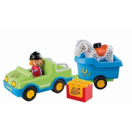 Playmobil Horse Trailer (Playmobil Car with Horse Trailer)