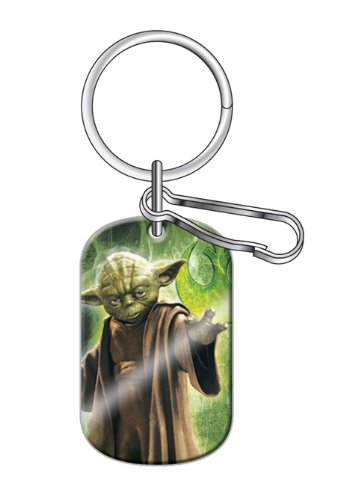 Yoda Jedi Master Star Wars Car Truck SUV Dog Tag Key -