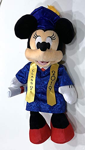 Disney Parks Minnie Mouse 2019 Graduation Graduate Plush Doll