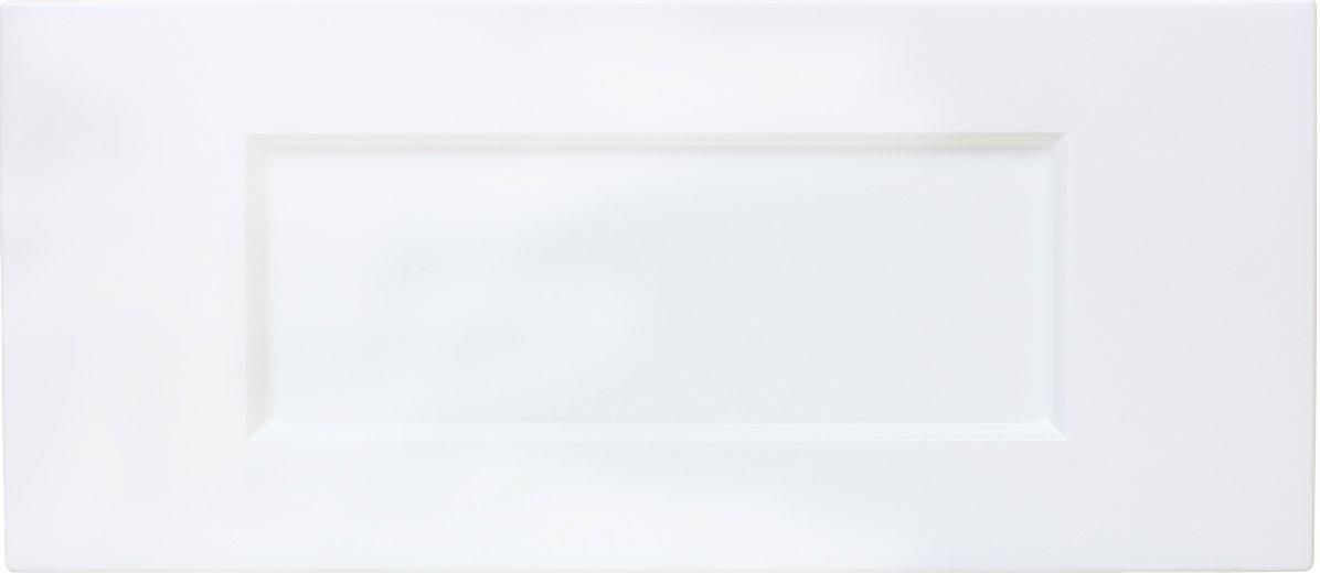 Cabinet Doors 'N' More 16'' x 5 3/4'' White RTF Shaker Recess Panel Kitchen Drawer Front