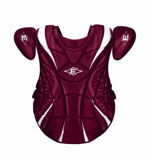 Womens Fastpitch Softball Chest Protector - Easton Adult Synge Fastpitch Chest Protector, Maroon, Maroon