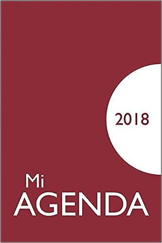 Mi agenda 2018: funda opaca: 9788428553520: Amazon.com: Books