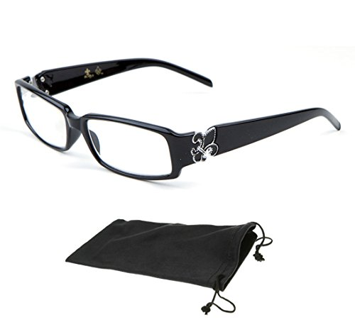 New Collection Women Men Unisex Designer Fashion Reading Glasses Square Reader (Strength: Black - Rd Shop Fashion
