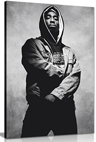 Tupac Shakur 2Pac Canvas Wall Art Picture Print (30x20in)