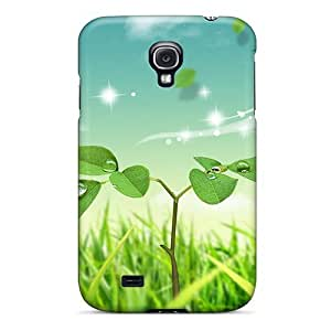Fashion Protective Butterfly World Case Cover For Galaxy S4