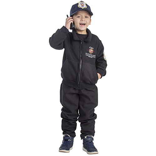 [Hatzolah EMT Rescuer Costume - Size Large 12-14] (Emergency Services Fancy Dress Costumes)