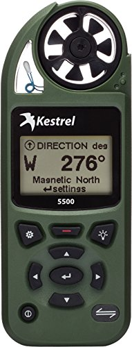 Kestrel 5500 Weather Meter, Olive Drab