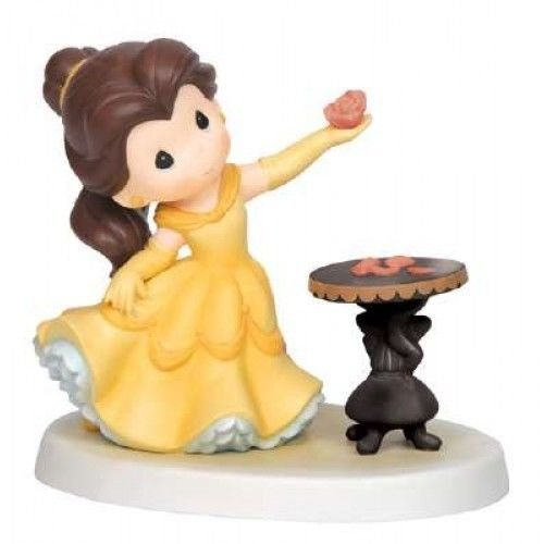 Precious Moments, Disney Showcase Collection, He Loves Me, Bisque Porcelain Figurine, 143020