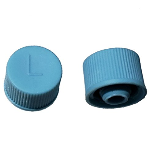 Buy Auto Supply # BAS03039 (10 Count) M9x1.0 Thread Blue Low Side A/C Service Cap Charge Port Valve for Air Conditioning Systems Aftermarket Replacement For MT0311, 69500 ()