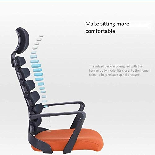 Kontorsstol datorstol skrivbordsstol svängbar stol spelstol hem ergonomisk amning midja ben rygg knästol