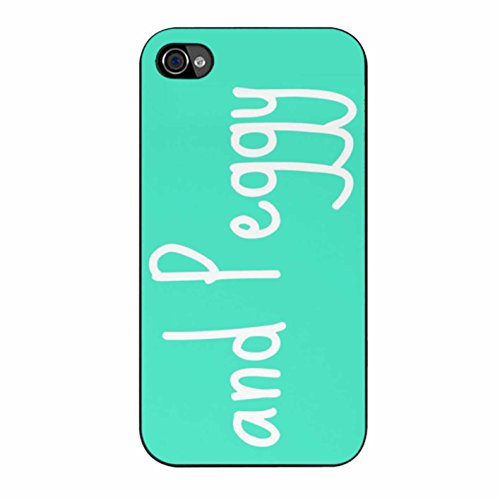 And Peggy Hamilton Quote Case / Color Black Rubber / Device iPhone 4/4s