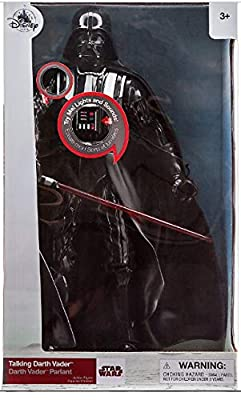 Darth Disney Vader Talking Action Figure - 14 1/2''