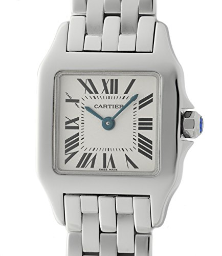 Cartier Santos quartz womens Watch W25064Z5_ (Certified Pre-owned)