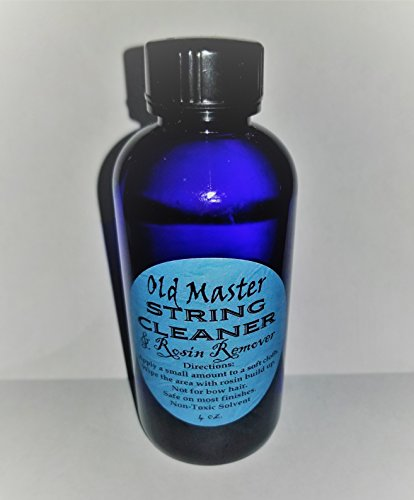 NEW LARGE SIZE - String Cleaner and Rosin Remover - #1 Seller by Stravari - Old Master Brand (Image #1)