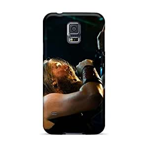 Shockproof Hard Phone Case For Samsung Galaxy S5 With Custom Trendy Amon Amarth Band Pictures JasonPelletier