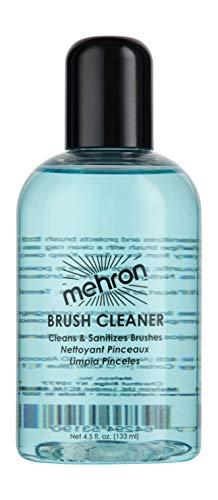Mehron Makeup Liquid Brush Cleaner (4.5 oz) (Alcohol Brush Cleaner)