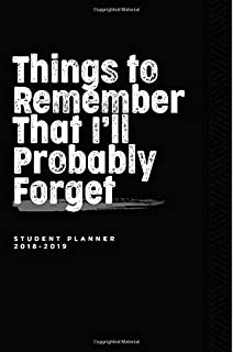 academic student year planner 2018 2019 galaxy quote highschool