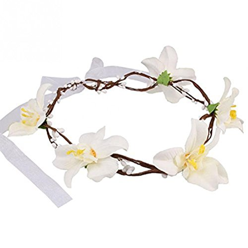 Tinksky Flower Headband Garland Photography