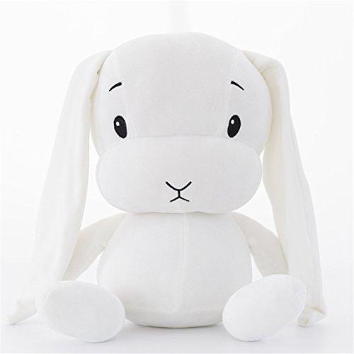 ぬいぐるみ うさぎ バニー 抱き枕 おもちゃ プレゼント(白-L)の商品画像