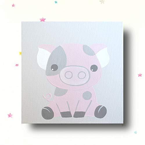 Bilder Kinderzimmer Tiere Bauernhoftiere Schwein Kinderbilder ...