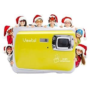 """Vmotal GDC5262 Impermeable cámara Digital con Zoom Digital de 4X / 8MP / 2"""" TFT LCD de la Pantalla/Cámara Impermeable para niños (Amarillo)"""