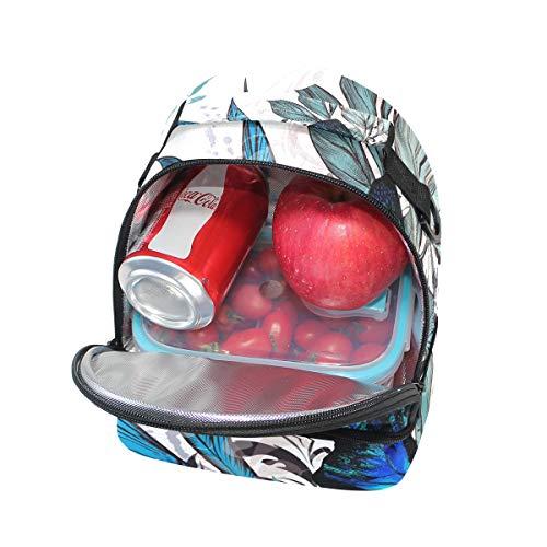 para Bolsa ajustable Alinlo escuela el con aislamiento para almuerzo pincnic y de de la correa hombro PUqFRW1fU