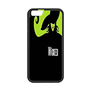 """Qxhu Musical Wicked patterns Hard Plastic Back Protective case for Iphone6 4.7"""""""
