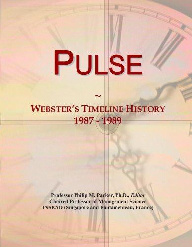 Pulse: Webster's Timeline History, 1987 - 1989