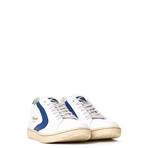 Homme Baskets Blanc TOURNAMENT007BIANCO Valsport Cuir qXxIwdTE0