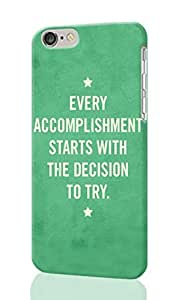 Best Positive Inspirational Quotes about Life Personalized Diy Custom Unique 3D Rough Hard Case Cover Skin For iPhone 6 Case, iPhone 6 4.7
