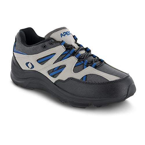 (Apex Men's Sierra Trail Runner Grey Hiking Shoe 8 )