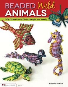 [(Beaded Wild Animals : Puffy Critters for Key Chains, Dangles, and Jewelry)] [By (author) Suzanne McNeill] published on (March, (Beaded Keychain Designs)