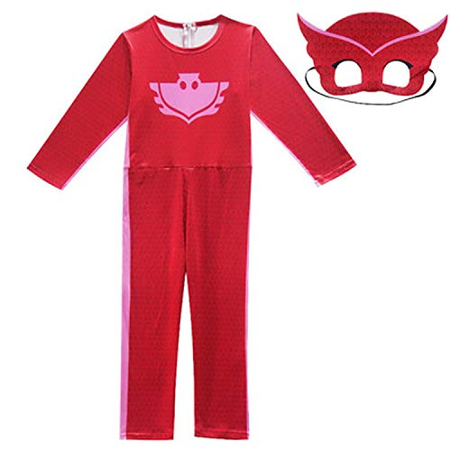 Kids Boyss Christmas Year Party Dress Halloween Costume Pajama Mask,Red,14T -
