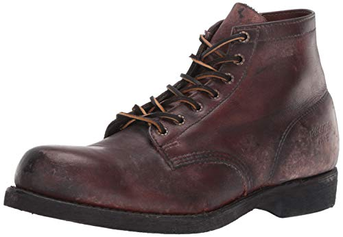 FRYE Men's Prison Boot 150 Combat BootDark Brown10.5 M US ()