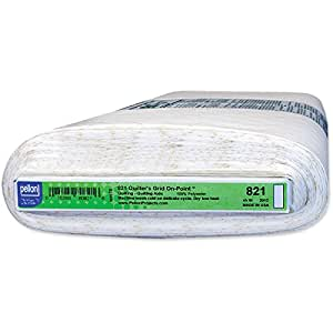 """Quilter's Fusible Non-Woven Layout Grid-White 45""""X25yd Fob: Mi"""