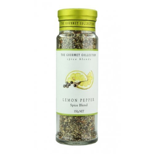 (The Gourmet Collection Lemon Pepper Spice Blend 5.6oz by Gourmet Collection)
