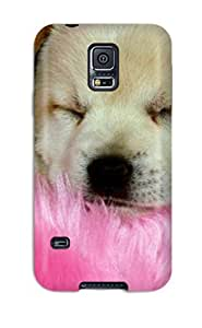 For Galaxy S5 Tpu Phone Case Cover(little Dog Animal S)
